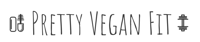 Pretty ~ Vegan ~ Fit logo