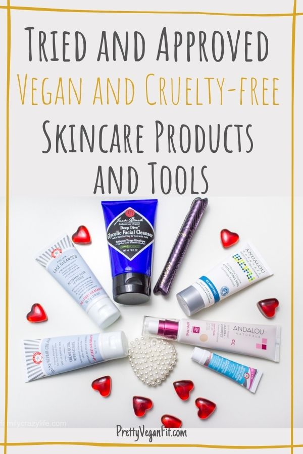 Tried and approved vegan and cruelty-free skincare products and tools